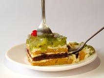 Γλυκιά ζελατίνα μούρων πιτών προγευμάτων Στοκ εικόνα με δικαίωμα ελεύθερης χρήσης