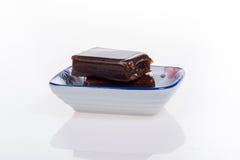 Γλυκιά ζελατίνα φασολιών στο μικρό πιάτο Στοκ φωτογραφίες με δικαίωμα ελεύθερης χρήσης