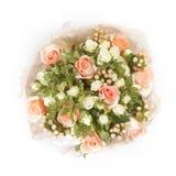Γλυκιά διανυσματική σύνθεση των τριαντάφυλλων Στοκ Εικόνες