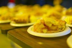 Γλυκιά πίτα κολοκύθας με την κτυπημένη κρέμα Στοκ Εικόνες