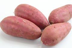 Γλυκιά πατάτα, 4 κομμάτια Στοκ Εικόνες