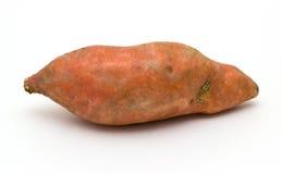 Γλυκιά πατάτα στο άσπρο υπόβαθρο Στοκ φωτογραφίες με δικαίωμα ελεύθερης χρήσης