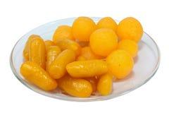 Γλυκιά χρυσή πτώση και φασόλι-κόλλα Στοκ φωτογραφία με δικαίωμα ελεύθερης χρήσης