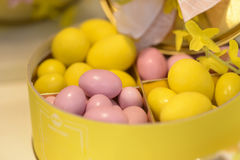 γλυκός παραδοσιακός αυγών Πάσχας σοκολάτας Στοκ εικόνα με δικαίωμα ελεύθερης χρήσης