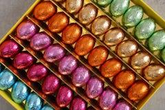 γλυκός παραδοσιακός αυγών Πάσχας σοκολάτας Στοκ Φωτογραφία