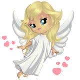 Γλυκό λίγος άγγελος Στοκ φωτογραφία με δικαίωμα ελεύθερης χρήσης