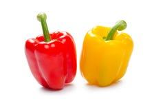 γλυκό επάνω λευκό πιπεριών ανασκόπησης στενό στοκ φωτογραφία με δικαίωμα ελεύθερης χρήσης