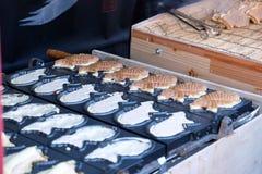 Γλυκό επιδόρπιο όπως τα ψάρια Στοκ Εικόνα
