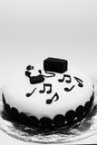 Γλυκό κέικ γενεθλίων ζύμης Στοκ εικόνες με δικαίωμα ελεύθερης χρήσης