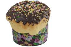 Γλυκό κέικ Πάσχας στο λούστρο Στοκ φωτογραφία με δικαίωμα ελεύθερης χρήσης