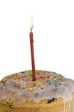 Γλυκό κέικ Πάσχας στο λούστρο Στοκ Φωτογραφίες