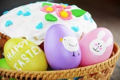 Γλυκό κέικ Πάσχας στοκ φωτογραφίες με δικαίωμα ελεύθερης χρήσης