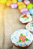 Γλυκό κέικ Πάσχας στοκ εικόνα