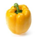 Γλυκό κίτρινο πιπέρι που απομονώνεται Στοκ φωτογραφία με δικαίωμα ελεύθερης χρήσης
