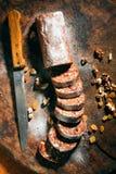 Γλυκό λουκάνικο Στοκ εικόνα με δικαίωμα ελεύθερης χρήσης