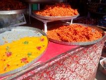 Γλυκό πιάτο αποκαλούμενου του το Κασμίρ helwa Στοκ εικόνα με δικαίωμα ελεύθερης χρήσης