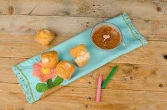 Γλυκό πρόχειρο φαγητό παιδιών Στοκ φωτογραφία με δικαίωμα ελεύθερης χρήσης