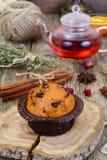 γλυκό σοκολάτας κέικ Στοκ Εικόνες