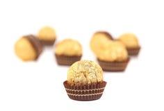 γλυκό σοκολάτας καραμ&epsi Στοκ Εικόνες