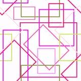 Γλυκό τετραγωνικό σχέδιο Στοκ Φωτογραφίες