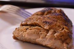 Γλυκό χοιρινό κρέας με το καρύκευμα Στοκ φωτογραφίες με δικαίωμα ελεύθερης χρήσης