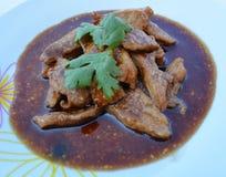 Γλυκό χοιρινό κρέας Στοκ Φωτογραφία