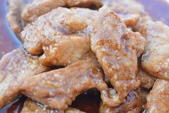 Γλυκό χοιρινό κρέας Στοκ Εικόνες