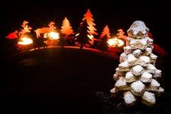Γλυκό χριστουγεννιάτικο δέντρο Στοκ Φωτογραφίες
