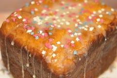 Γλυκό juicy κέικ Στοκ Εικόνες