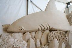 Γλυπτά άμμου στην αποβάθρα 60 φεστιβάλ άμμου ζάχαρης στοκ φωτογραφίες με δικαίωμα ελεύθερης χρήσης