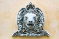 Γλυπτά λιονταριών στοκ φωτογραφίες με δικαίωμα ελεύθερης χρήσης