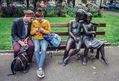 Γλυπτά στο Πίλζεν Στοκ φωτογραφία με δικαίωμα ελεύθερης χρήσης