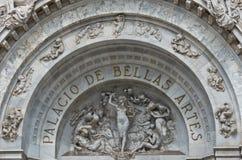 Γλυπτά στο παλάτι Bellas Artes των Καλών Τεχνών, Πόλη του Μεξικού, Μεξικό Στοκ φωτογραφία με δικαίωμα ελεύθερης χρήσης