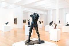 Γλυπτά Rodin της συλλογής τέχνης σολιστών στη βόρεια Καρολίνα Στοκ εικόνα με δικαίωμα ελεύθερης χρήσης