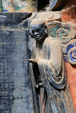 Γλυπτικές βράχου Dazu, Κίνα Στοκ Εικόνες