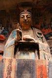 Γλυπτικές βράχου Dazu, Κίνα Στοκ εικόνες με δικαίωμα ελεύθερης χρήσης