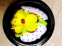 Γλυπτικές λουλουδιών σαπουνιών Στοκ εικόνα με δικαίωμα ελεύθερης χρήσης