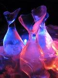 Γλυπτικές πάγου στην Αλάσκα Στοκ εικόνα με δικαίωμα ελεύθερης χρήσης