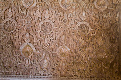 Γλυπτικές Alhambra Στοκ Φωτογραφίες