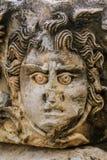 Γλυπτική προσώπου Medusa Στοκ Φωτογραφίες