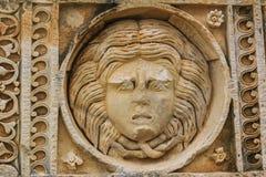 Γλυπτική προσώπου Medusa Στοκ εικόνα με δικαίωμα ελεύθερης χρήσης