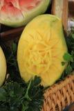 Γλυπτική φρούτων Στοκ εικόνα με δικαίωμα ελεύθερης χρήσης
