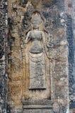 Γλυπτική Apsara Στοκ Εικόνες