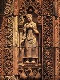 Γλυπτική Apsara, Angkor wat, Καμπότζη Στοκ φωτογραφία με δικαίωμα ελεύθερης χρήσης