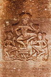 Γλυπτική Apsara, Angkor wat Στοκ φωτογραφίες με δικαίωμα ελεύθερης χρήσης