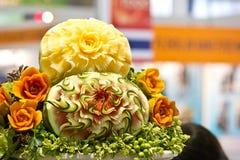 Γλυπτική Vegetabale Στοκ Φωτογραφίες