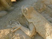 Γλυπτό άμμου Στοκ εικόνες με δικαίωμα ελεύθερης χρήσης