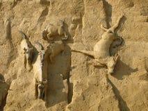 Γλυπτό άμμου Στοκ Φωτογραφία