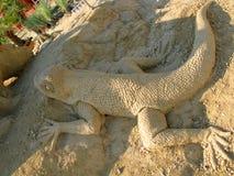Γλυπτό άμμου Στοκ εικόνα με δικαίωμα ελεύθερης χρήσης
