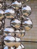 Γλυπτό δίπλα στο μουσείο Γκούγκενχαϊμ Μπιλμπάο Στοκ φωτογραφίες με δικαίωμα ελεύθερης χρήσης